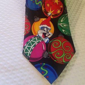 Looney tunes men's tie